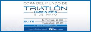 El Triatlón Popular de Madrid regresa a la capital el 5 de mayo